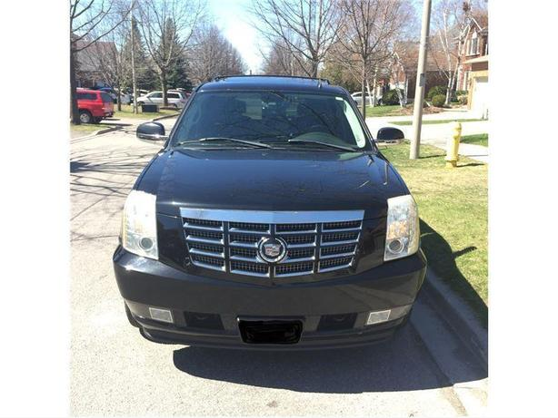 2007 Cadillac Escalade Black Leather