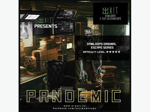 EXIT Kamloops Escape - Pandemic