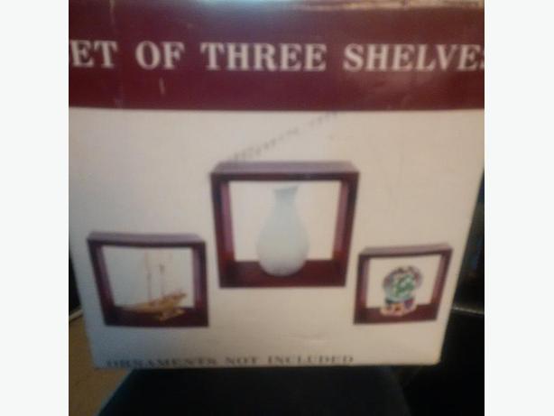 box shelves - new