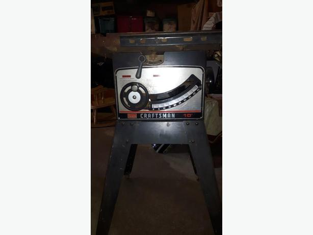 "Craftsman 10"" Table saw, Tablesaw"