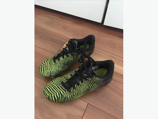 official photos a9219 b83d0 Kids Adidas Soccer Cleats - BlackLime Green - Size 4