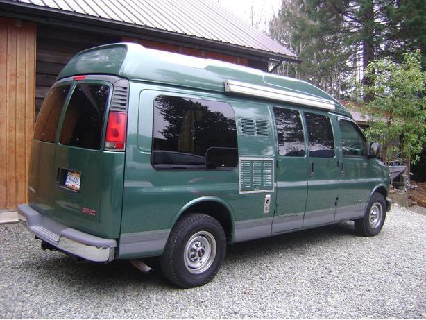 GMC Conversion Camper Van