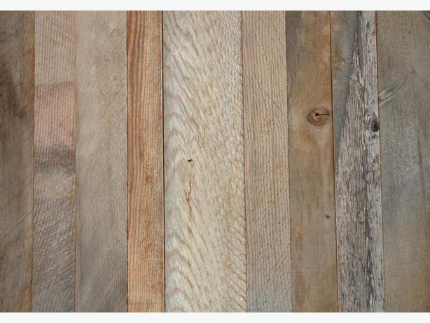 Reclaimed weathered grey barn board VENEER lumber for sale