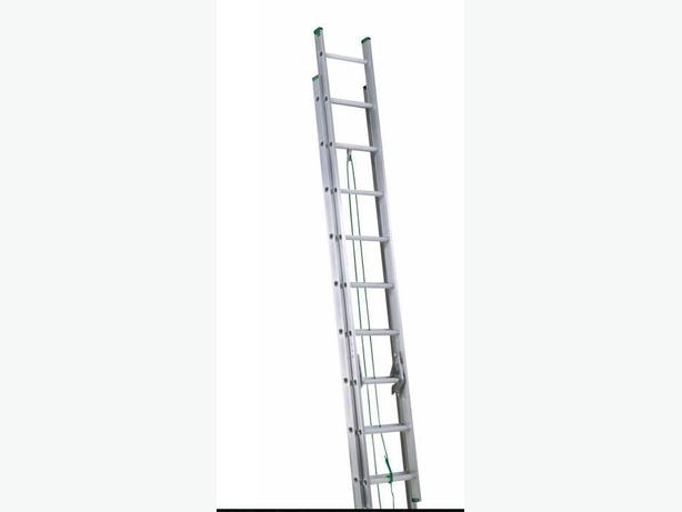 20 ft aluminum extension ladder