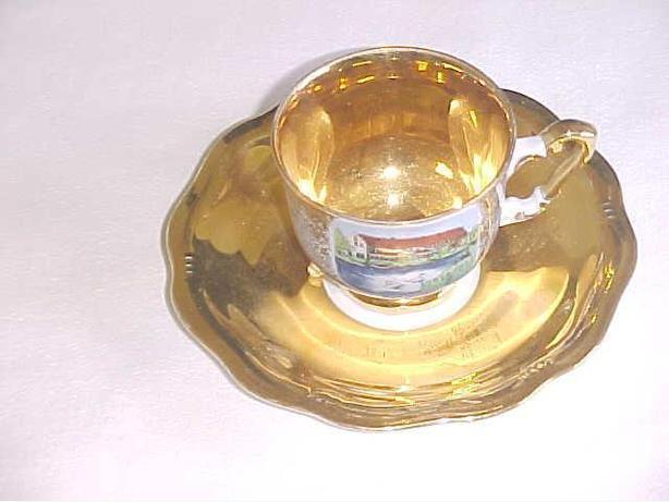 PLANKENHAMMER FLOSS CUP AND SAUCER