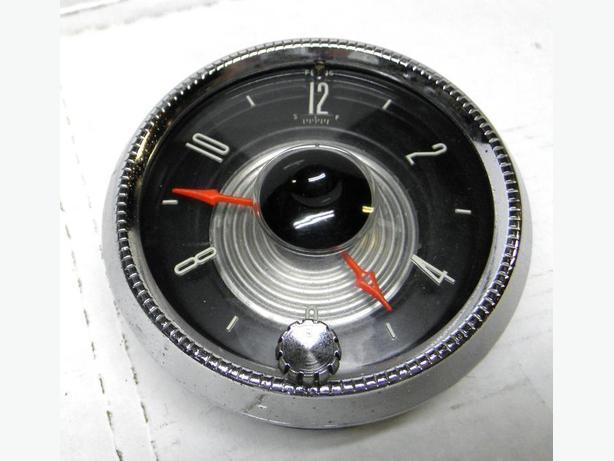 1955 55 Ford Crown Victoria Fairlane Dash Clock