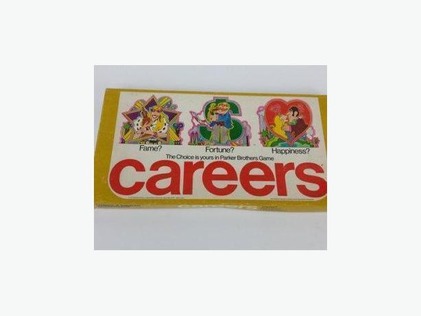 Vintage Careers Board Game
