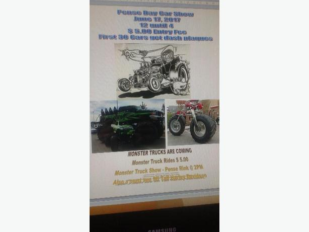 Pense Car show/Monster Truck Rides