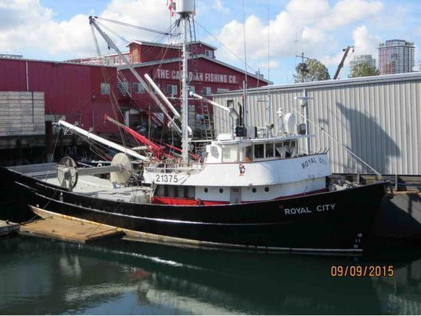 Commercial Seine Fishing Packer For Sale - Royal City
