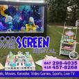 HD INFLATABLE CINEMA SCREEN FOR RENT!!!