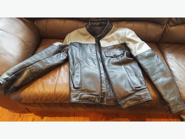New Leather Jacket unisex Small