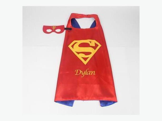 Personalized Superhero capes