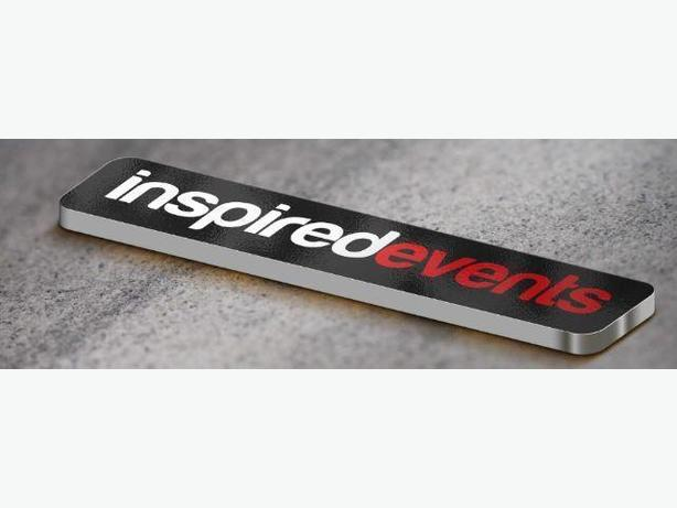 Inspired Events-Accepting Applications for upcoming events