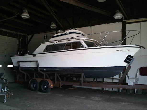 Luhrs Flybridge Cruiser 28 - Motor Boat For Sale