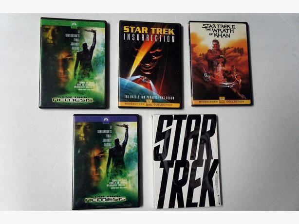 18 DVD of Star Trek - 14 double disk - 4 single disk