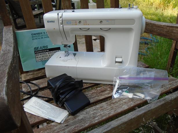 Sears Kenmore Sewing Machine Model 4040 Outside Nanaimo Nanaimo Mesmerizing Sears Ca Sewing Machines