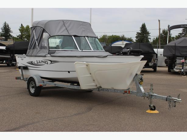 2010 Lund 1625 Rebel Sport XL w/Mercury 60hp 4stroke