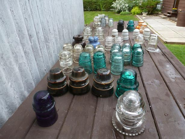 Insulators - Porcelain, Glass, Rubber