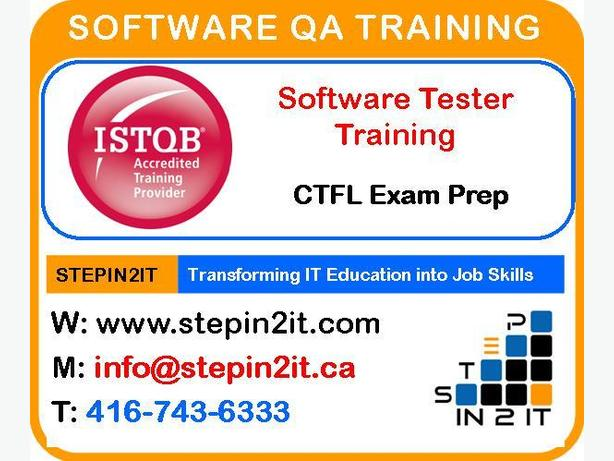 Software QA & Testing Program (Weekends & Weekdays)