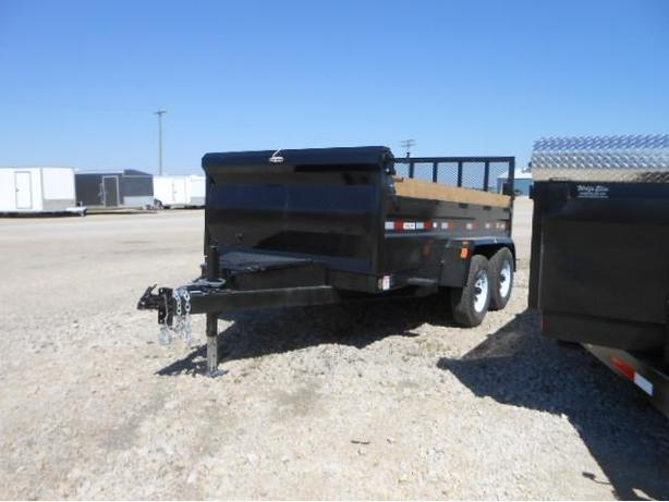 2017 Precision Trailers 12X6 Dump Box HH4149