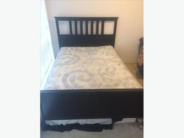 FULL Bed Set and matching side table
