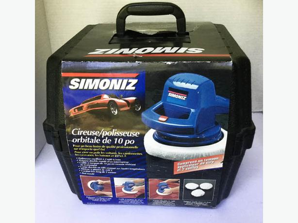 10 inches Orbital Waxer/Polisher SIMONIZ