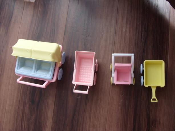 Vintage Playskool Doll House Furniture People Anomals Victoria City