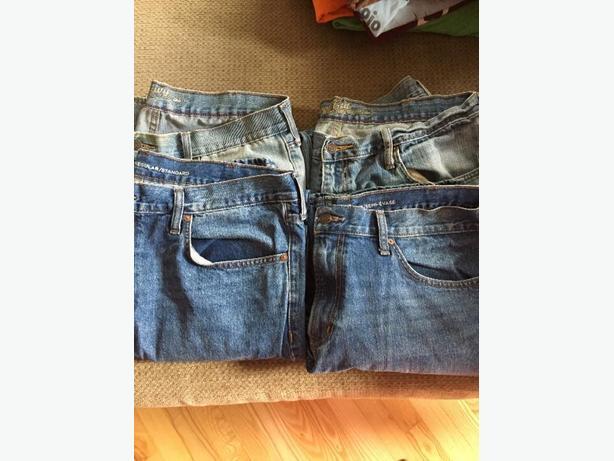 men's jeans 38x32
