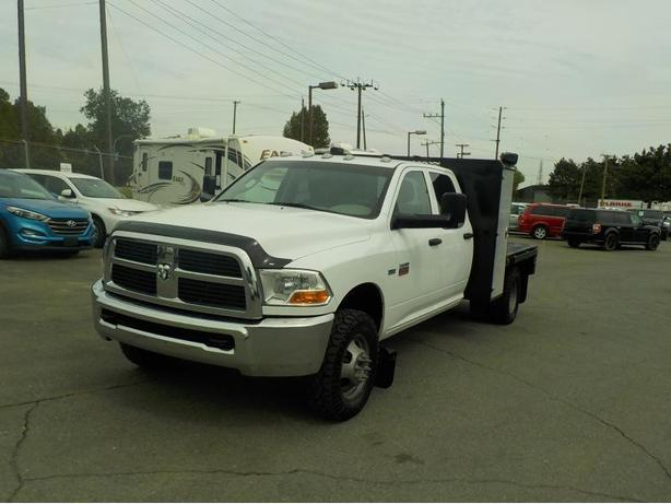 2012 Dodge Ram 3500 Crew Cab 4WD Dually Flat Deck