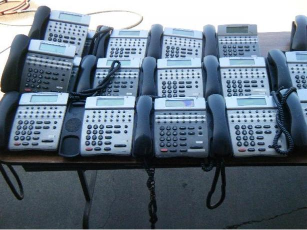 Five NEC Electra Elite 1PK Phone Systems