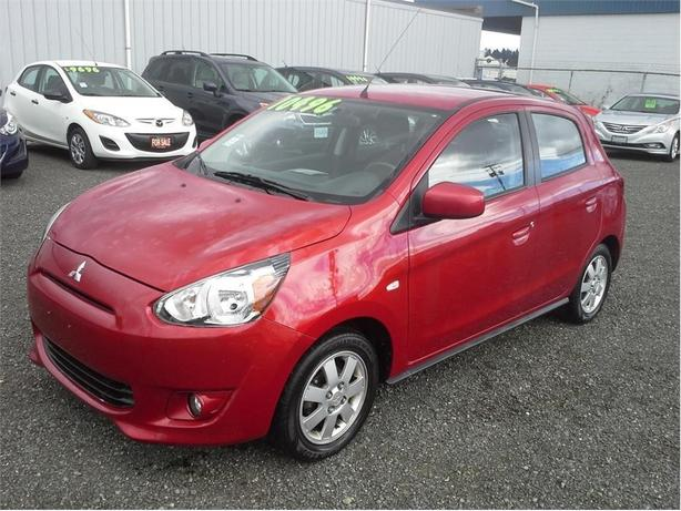 2014 Mitsubishi Mirage SE with Convenience pkg
