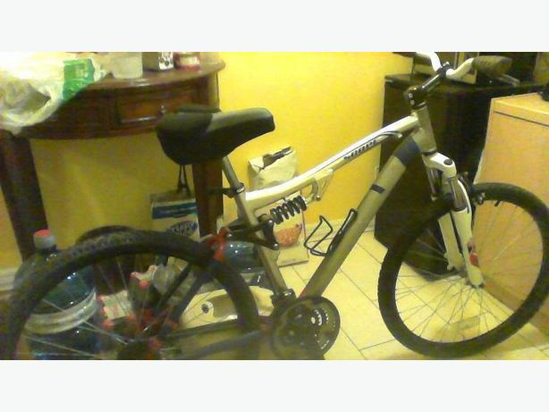 CCM front/rear shocked aluminium frame mountain bike Nepean, Ottawa