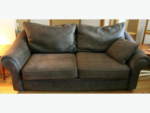 Sofa-dark brown