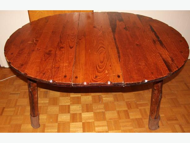 Kitchen wooden table-vintage