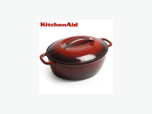 Kitchenaid Dutch Oven kitchenaid cast iron 3.5 qt. dutch oven victoria city, victoria