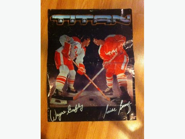 wayne gretzky and mike bossy poster Victoria City, Victoria