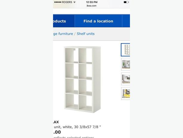 ikea Kallax shelf