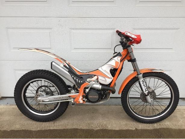 2013 Scorpa SR 280 trials motorcycle