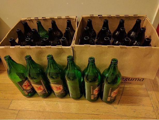 "30x1.2L Beer Bottles ""Caguamón"""