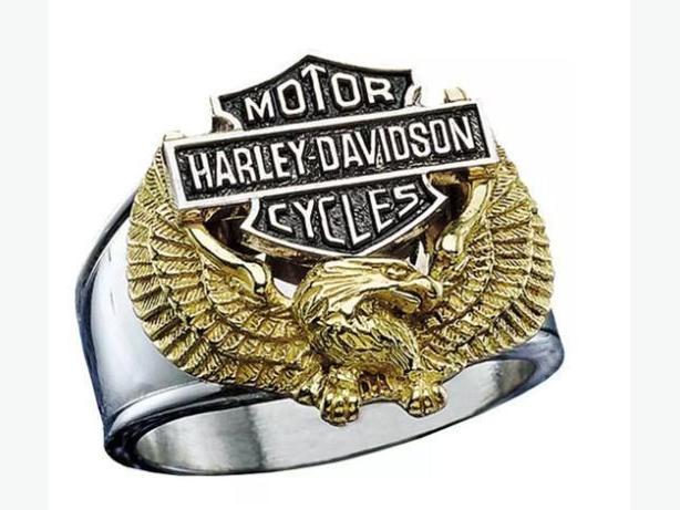 Bague de moto Harley