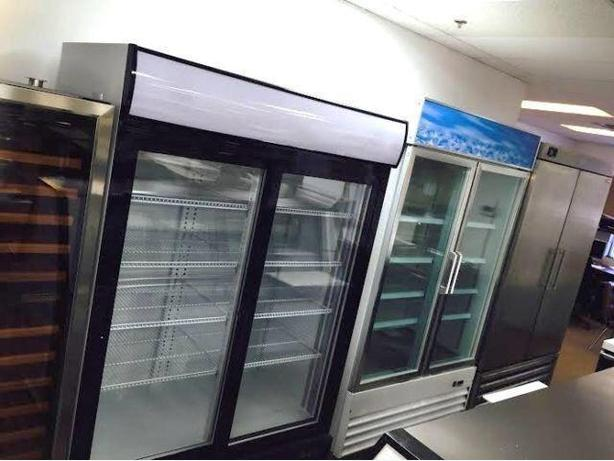 SINGLE, DOUBLE, TRIPLE GLASS DOOR FREEZERS, COMMERCIAL FRIDGES, COOLERS
