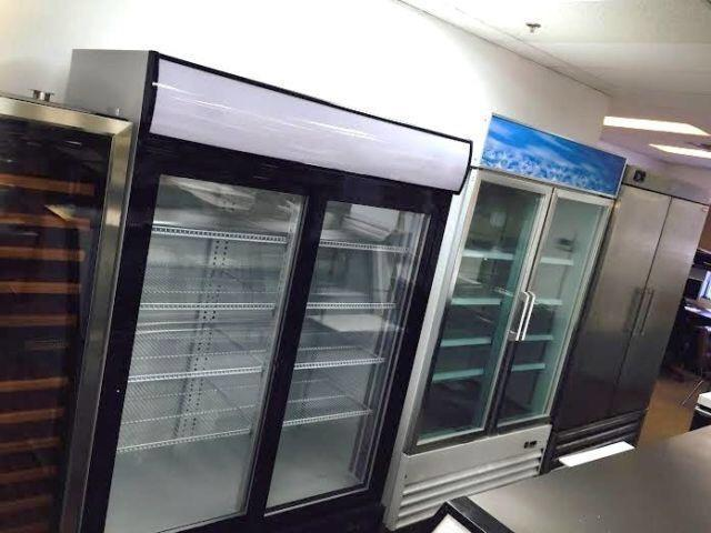 Single Double Triple Glass Door Freezers Commercial
