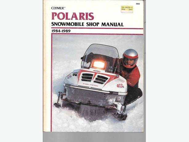 Polaris shop manual clymer
