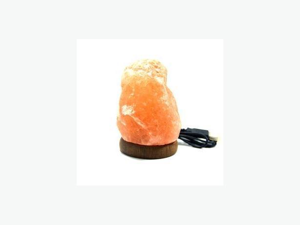 Buy Himalayan Salt Lamp – Naturally shaped – Mini Lamp with USB