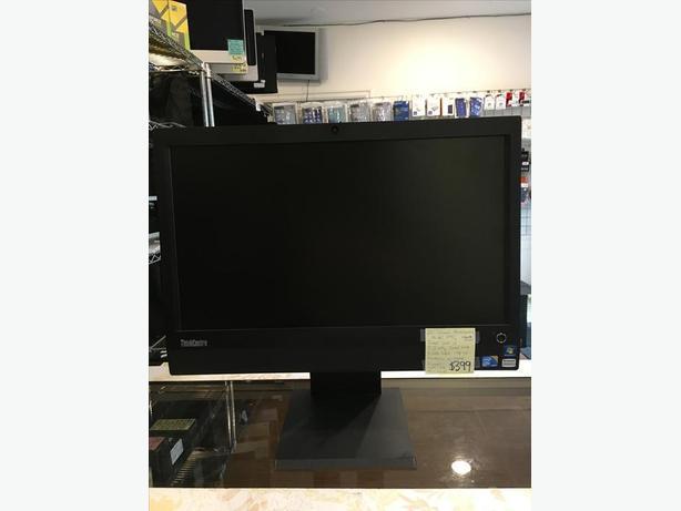 "23"" Lenovo ThinkCentre M90z Windows 10 Home All In One Desk Top w/ Warranty!"