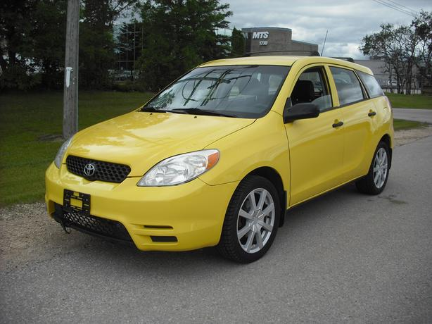 2004 Toyota Matrix with 172,000 kms