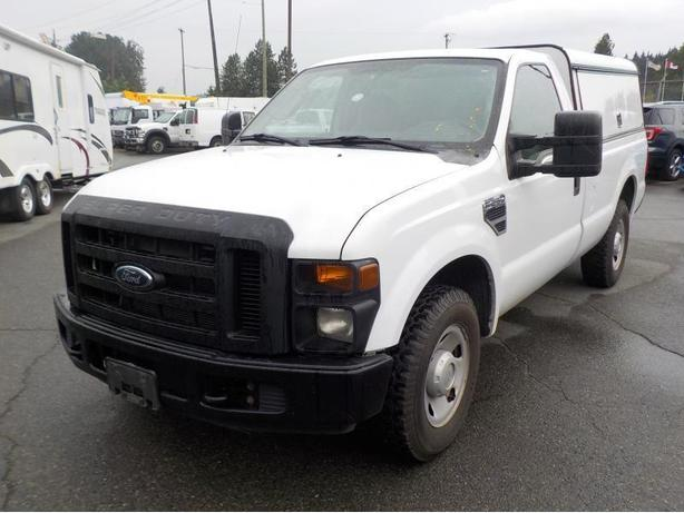 2008 Ford F-250 SD Reg Cab XL 2WD W/ Service Canopy Long Box