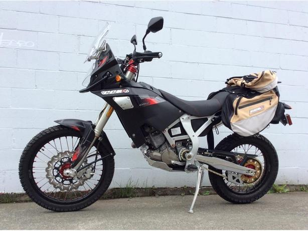 2017 CCM S-model GP450 Adventure Enduro Motorcycle w/ Luggage  @ Tuff City