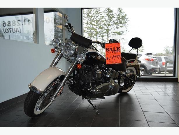 2013 Harley Davidson Softail FLSTN Deluxe - 5,200 Km's !