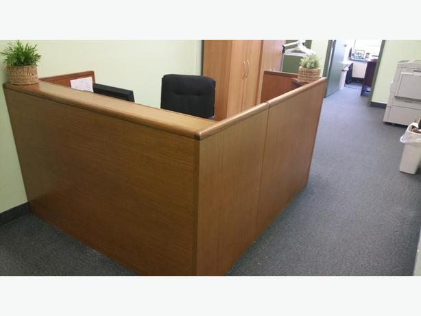Office Reception Desk - $200